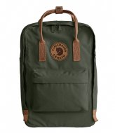 Fjallraven Kanken No. 2 Laptop 15 inch deep forest (662)