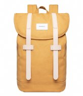 Sandqvist Stig 15 Inch honey yellow with natural leather (1358)